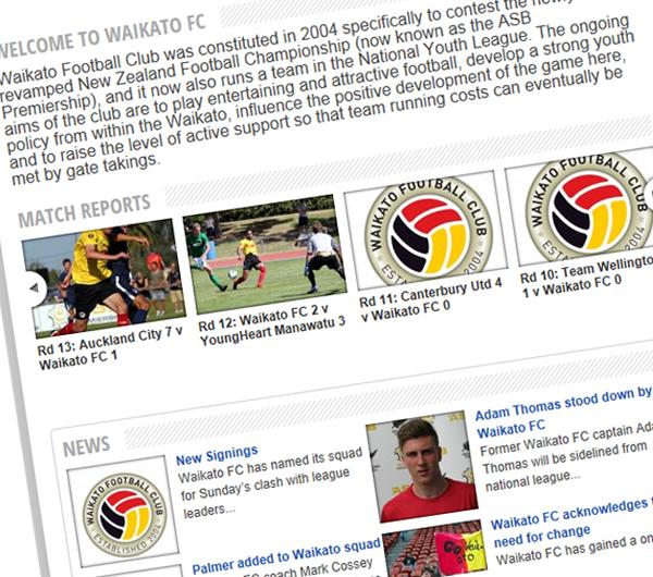 Waikato FC website