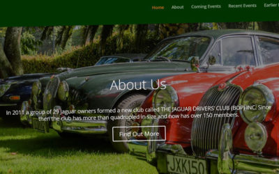 Website – Jaguar Drivers Club (BOP)