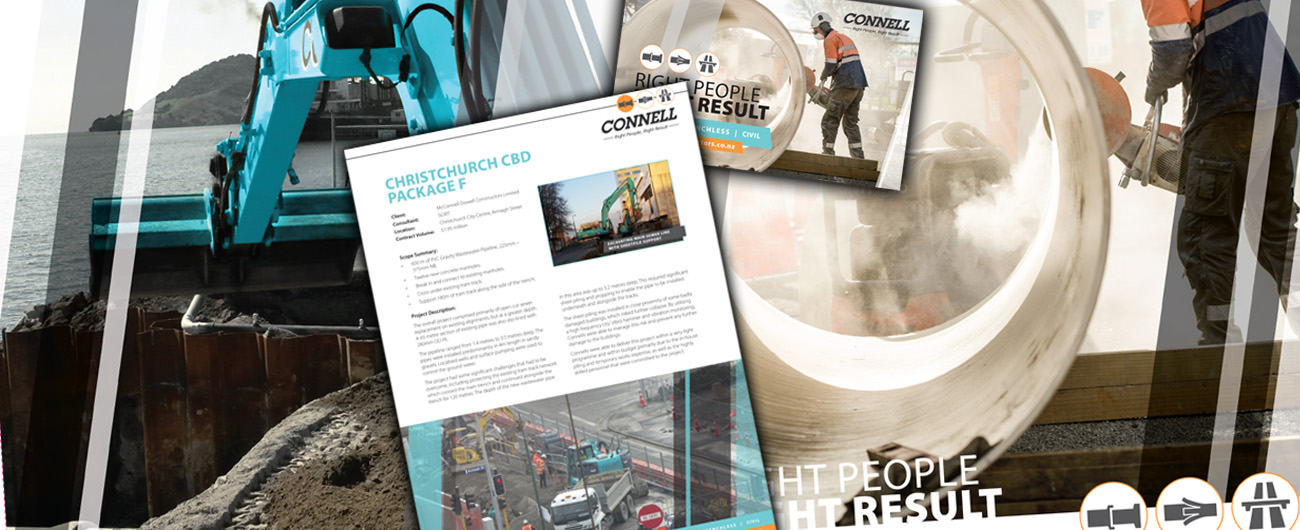 Promotional Collateral – Connell Contractors
