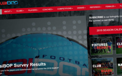 Website – WaiBOP Football Federation
